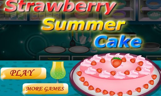 Strawberry Shortcake Cake Maker Game Free Download For Pc
