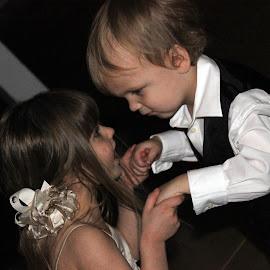 Mom's making me! by Taryn Gillespie - Wedding Reception ( tarynchantelphotography )