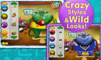 Screenshot of Cool Monsters Dress Up
