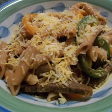 Low Fat Fajita Pasta