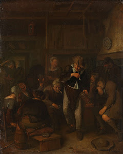 RIJKS: Richard Brakenburg: painting 1702