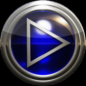 glass poweramp skin blue For PC / Windows 7/8/10 / Mac – Free Download