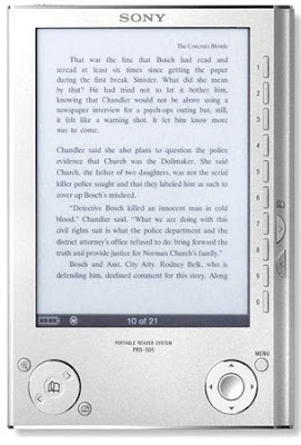 Kütyü – Sony eBook reader (PRS-505)