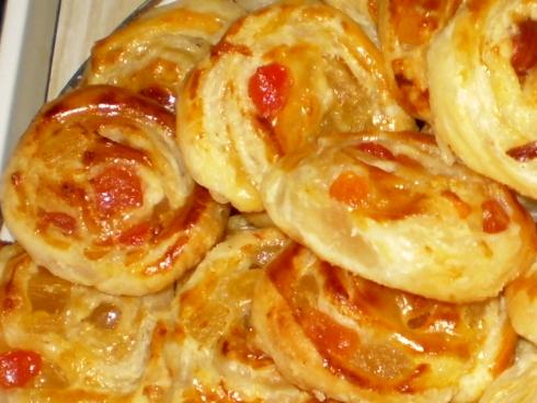 Sausainiai su vaisiais