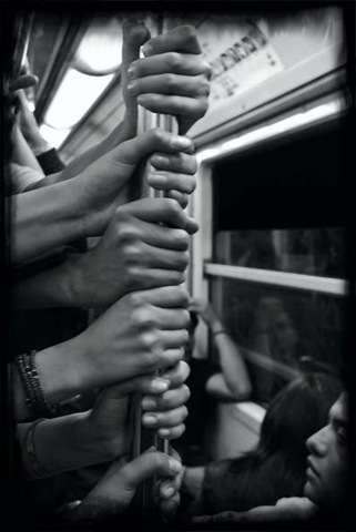 Mata Rosas De preparando mi libro sobre el metro 2008