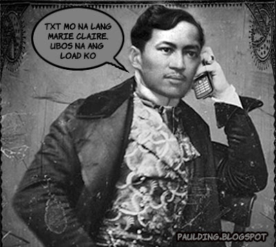 Tomorrow will be our last day for PI 100 (Life and Works of Jose Rizal).