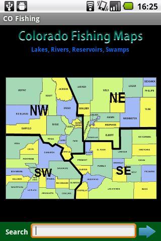 Colorado Fishing Maps - 12.2K