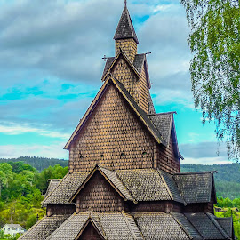 Church by Mihai Popa - Buildings & Architecture Places of Worship ( church, travel, worship, norway )