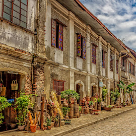 calle crisologo, vigan by Ronald Anyayahan - Buildings & Architecture Other Exteriors
