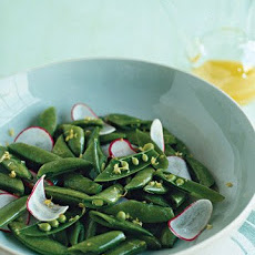 Sugar Snap Pea and Radish Salad