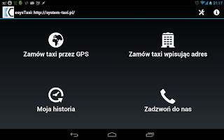 Screenshot of Merc Taxi Grudziądz
