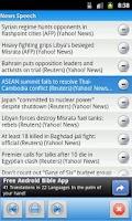 Screenshot of News Speech
