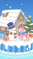 Screenshot of snow dream♪cute christmas(FREE