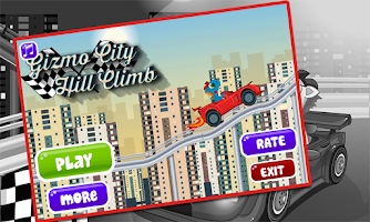 Screenshot of gizmo city hill climb