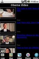 Screenshot of Follow Obama
