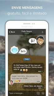 Rounds Video Chat, Texto, Voz: miniatura da captura de tela