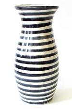 black_striped_vase