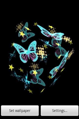 可愛的蝴蝶