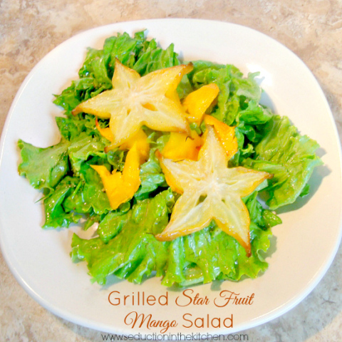 Grilled Star Fruit Mango Salad