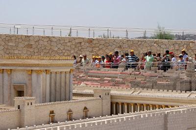 26 de agosto: Maqueta de Jerusalen
