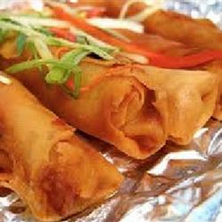 Lumpia - Filipino Shrimp and Pork Egg Rolls