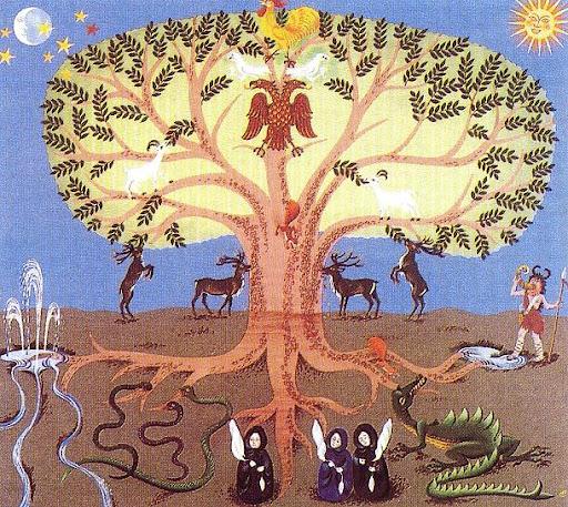 LE MONDE DE LA TERRE arbre_mythologie-scandinave