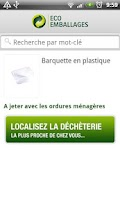 Screenshot of Guide du tri