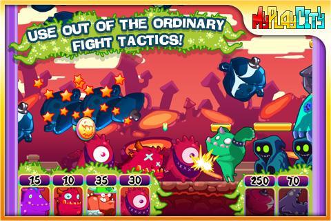 【免費街機App】Cute Monsters-APP點子