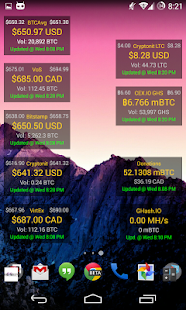 Bitcoinium Prime ★No-Ads★ screenshot for Android