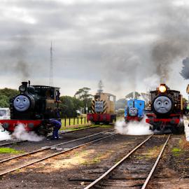 Thomas the Tank Engine Day by Peter Keast - Transportation Trains ( railway, railroad, steam train, train, tourism, transportation,  )