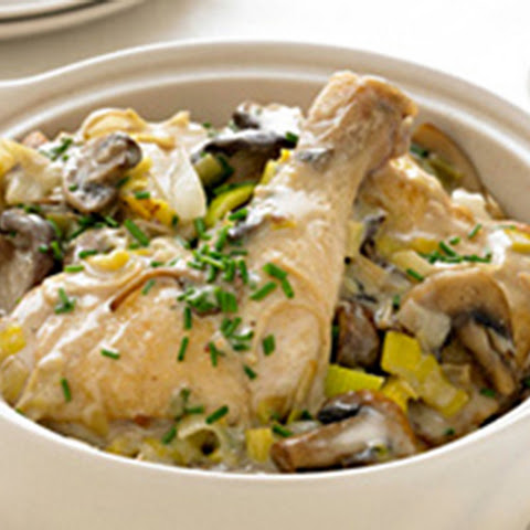 Chicken and Mushroom Fricassee