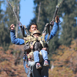 Paragliding  by Naveen Aggarwal  - Sports & Fitness Other Sports