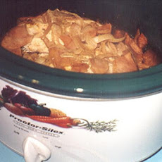 Crock Pot Chicken Paprika
