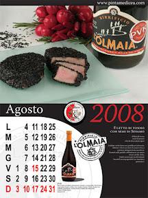 Calendario della Pinta Medicea 2008. Agosto