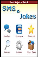 Screenshot of SMS & Jokes 2014