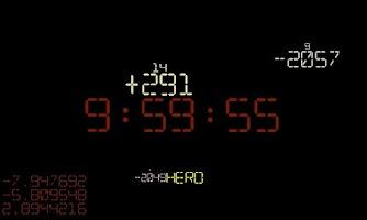 Screenshot of the countdown