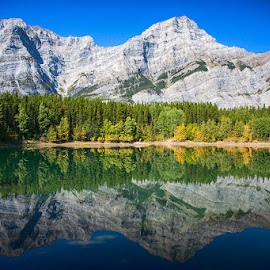 Canadian Rockies by Brent Morris - Landscapes Mountains & Hills