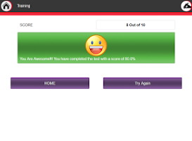 Screenshot of Aptitude Trainer