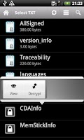 Screenshot of Text File Lock