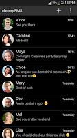Screenshot of chomp SMS theme add-on