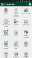 Screenshot of Nedbank App Suite