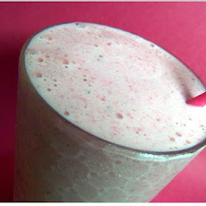 Double Strawberry Banana Shake