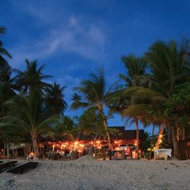 Dinner on the Beach by Stiaan Du Plessis - City,  Street & Park  Markets & Shops