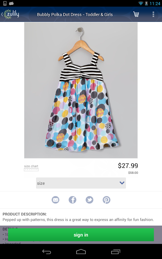 zulily Screenshot 10