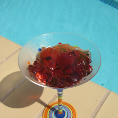 Kir Royale Jello Shots