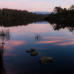 Lake Kara. by Robert Stanley - Landscapes Waterscapes (  )