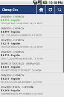 Screenshot of Cheap Gas