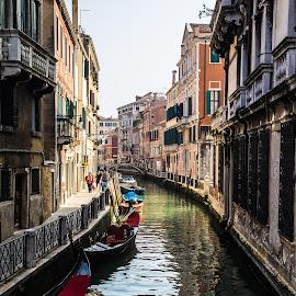 Venice, Italy by Cuc Horaţiu-Adrian - City,  Street & Park  Historic Districts ( canale, gondola, venice )
