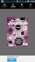 Screenshot of Microwave Journal Magazine