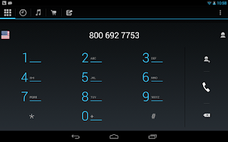 Screenshot of WePhone - phone calls vs skype